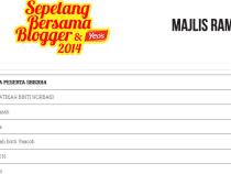 Sepetang Bersama Blogger 2014 And MSMW