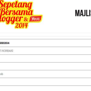 Sepetang Bersama Blogger Register