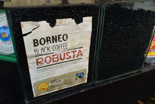 Borneo Black Coffee