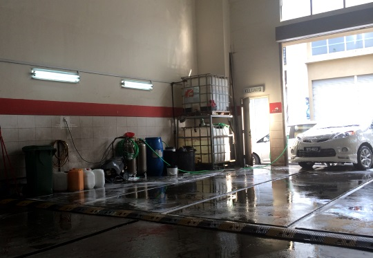 Car Wash Di Putrajaya