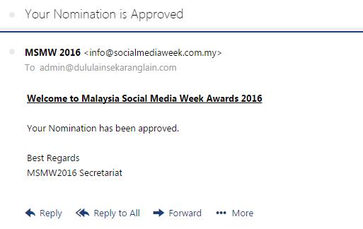 MSMW2016 Nomination