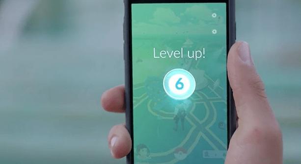 pokemon level up