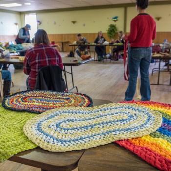 Rag Rugs with the Duluth Folk School