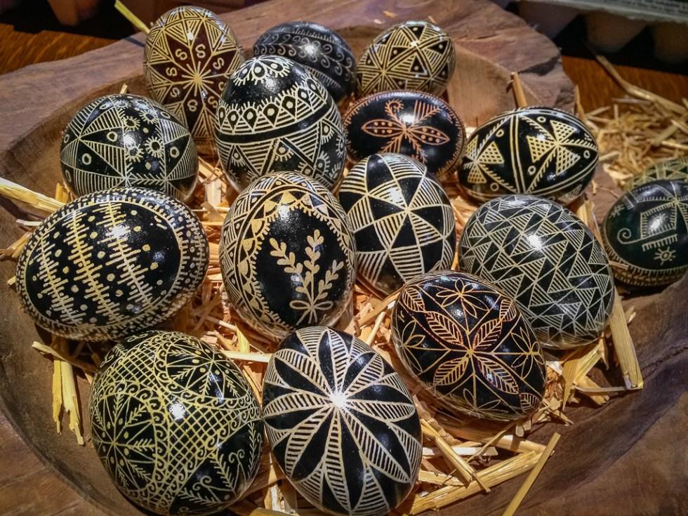 Batik Pisanki Egg Decorating