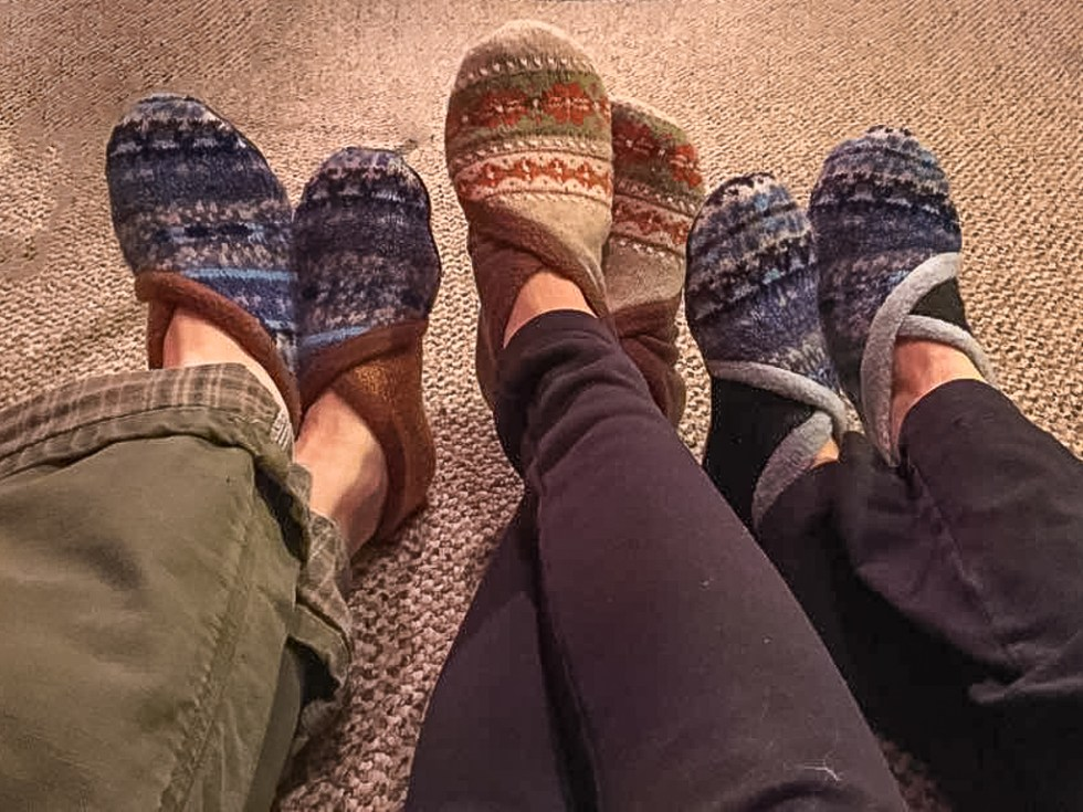 Sweaters to Slippers