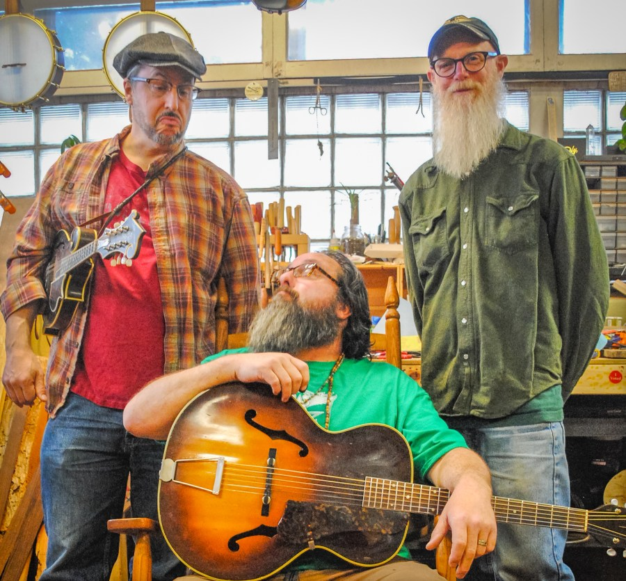 Skally Line Chew and Paulson at the Duluth Folk School