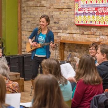 Folksing at the Duluth Folk School