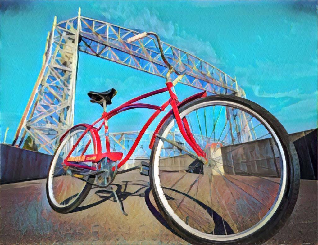 Vintage Bikes & Bike Art at the Duluth Folk School