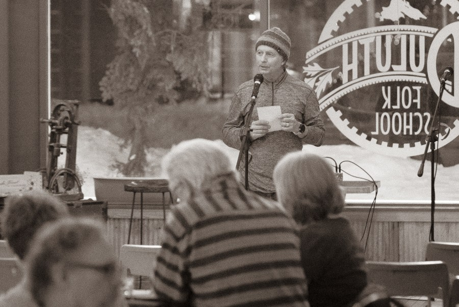 Homegrown Poetry Showcase at the Duluth Folk School