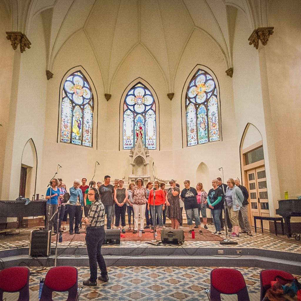 A Women's Chorus at the Duluth Folk School