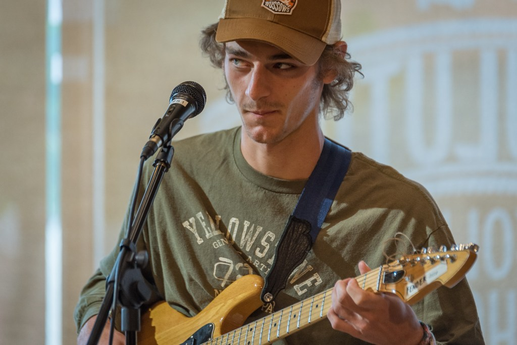 Jacob Mahon at the Dovetail Cafe