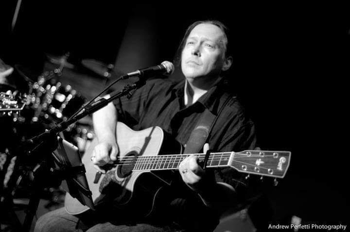 John Seguin at the Dovetail Cafe