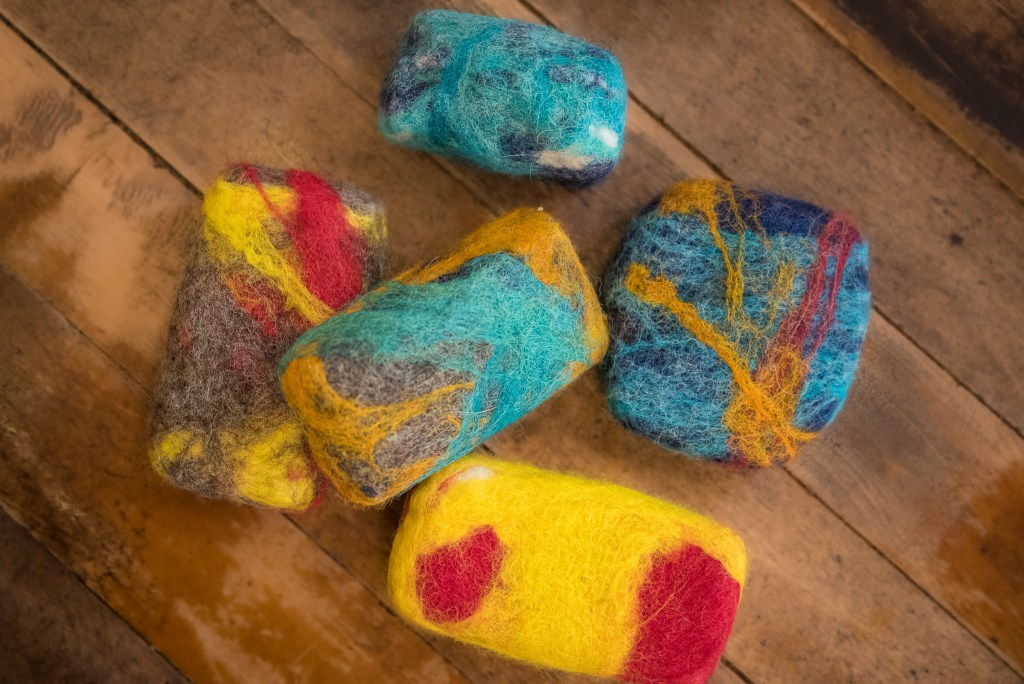Felted Soap at the Duluth Folk School