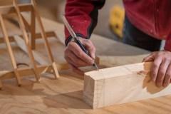Duluth Folk School Timber Framed Sawhorse Class