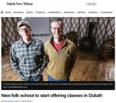 Duluth News Tribune Article
