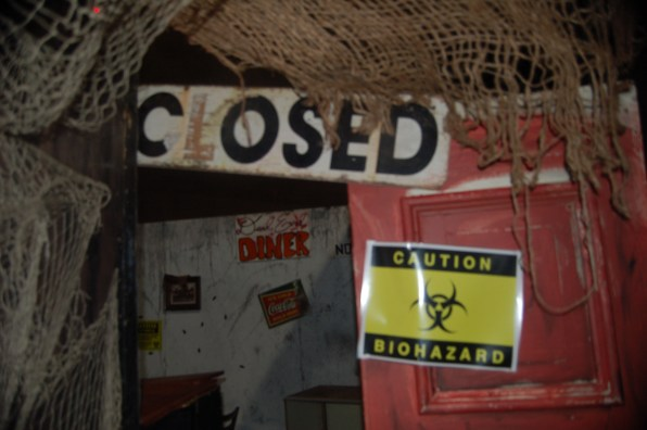 Diner Closed Sign