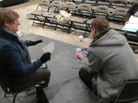 Actors Julie Ahasay & Cory Anderson