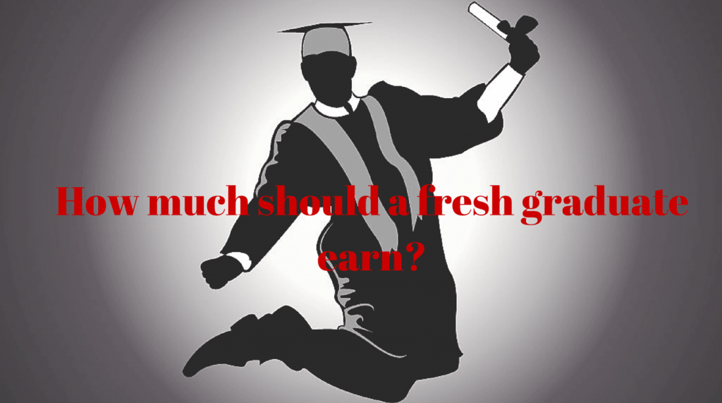 How much should a new graduate earn