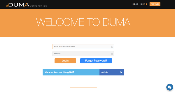 Sign up for Duma Works to get access to job vacancies you can apply for to get your dream job.