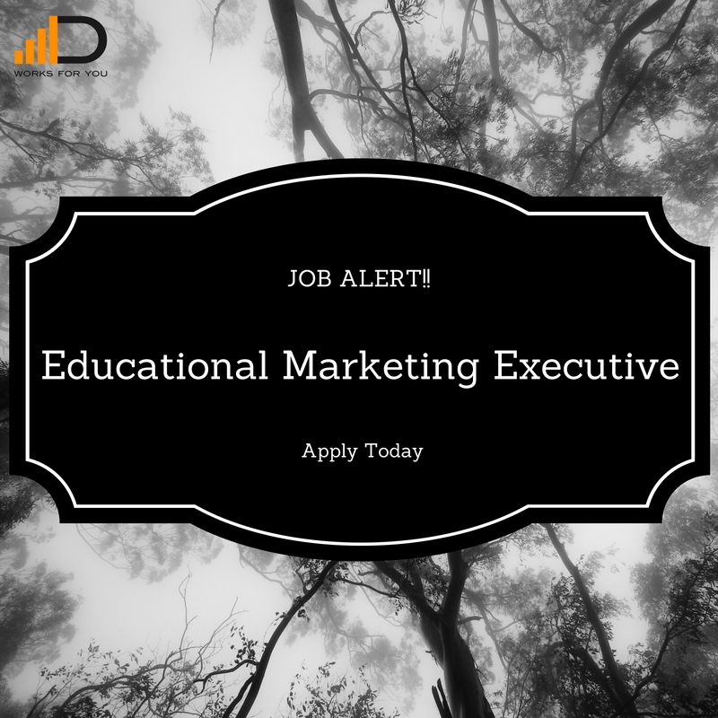 apply to be an educational marketing executive