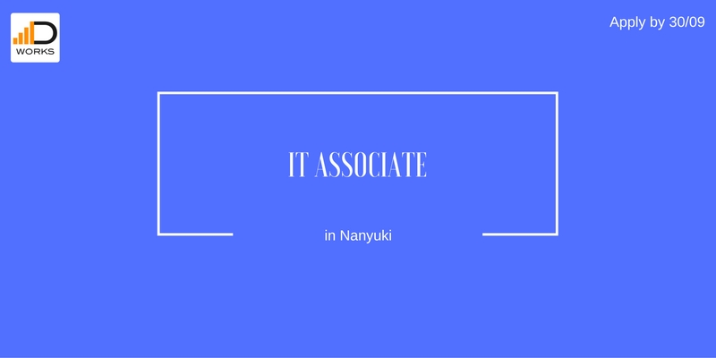 Apply for an IT associate job vacancy at Boma Project in Nanyuki