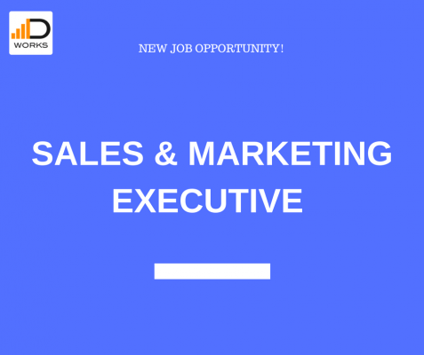Apply for the Sales and Marketing Executive job.