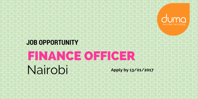 Apply for the Finance Officer role