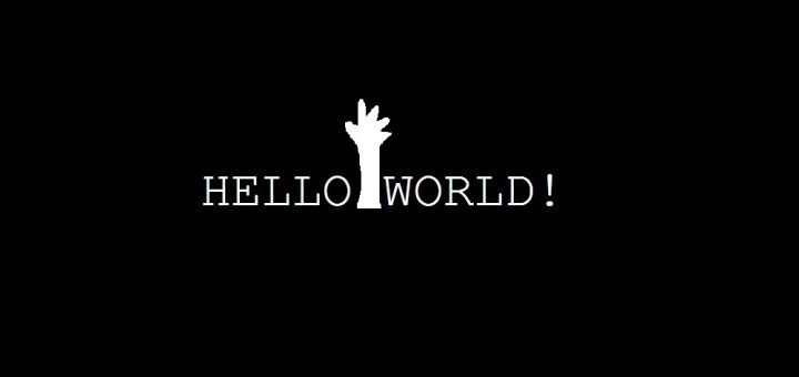 image of hello world dumb it dude