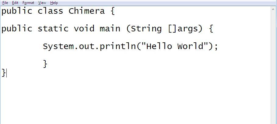 Hello World Java program first Java demo program