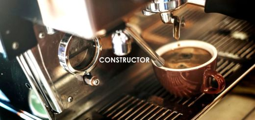 image of a coffee constructor for example of constructor in java