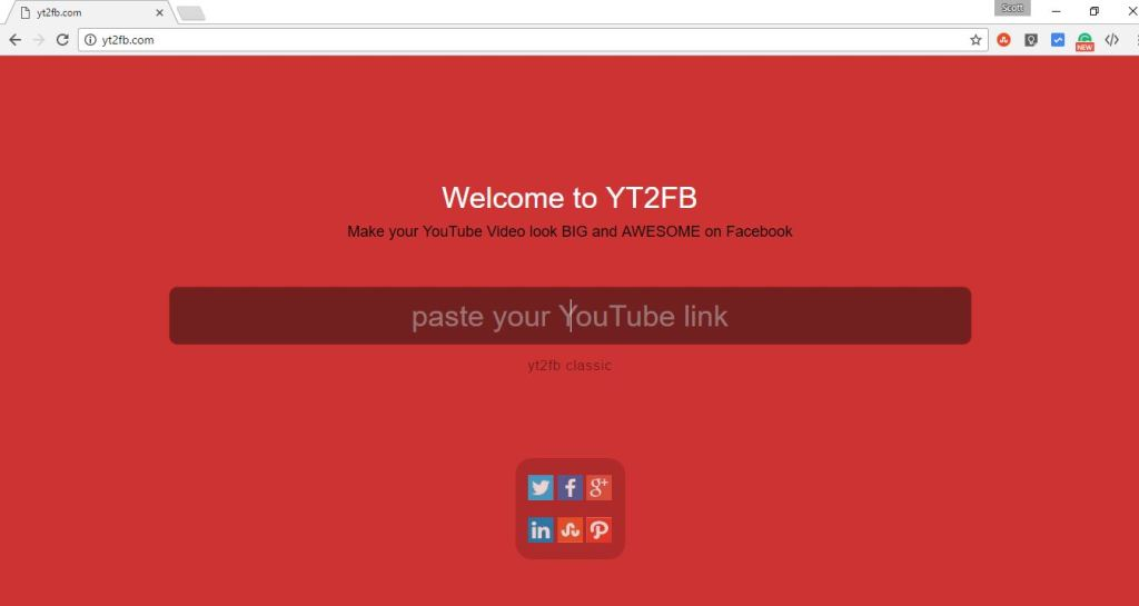 yt2fb site for changing thumbnail size of youtube videos for sharing on FB