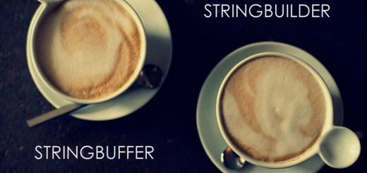 image of two coffee cups for stringbuffer class java and stringbuilder in java
