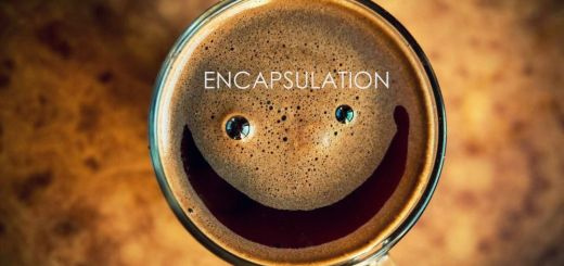 encapsulation java coffee smile