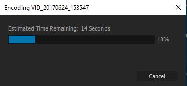 exporting a video in premiere pro