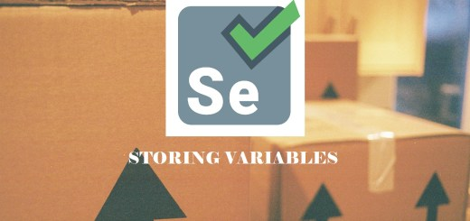 how to store variables in selenium IDE image