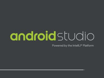 android studio starting window