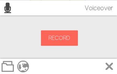 record voiceover scribe