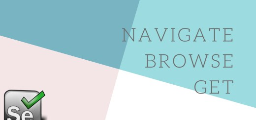 selenium commands basic navigate get and browser