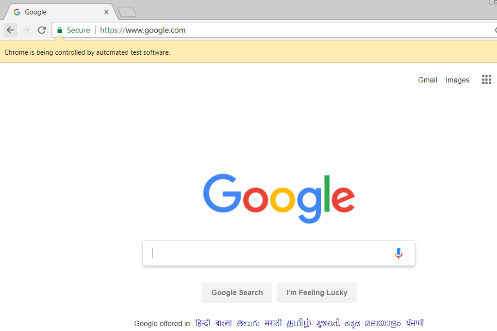 automated google site