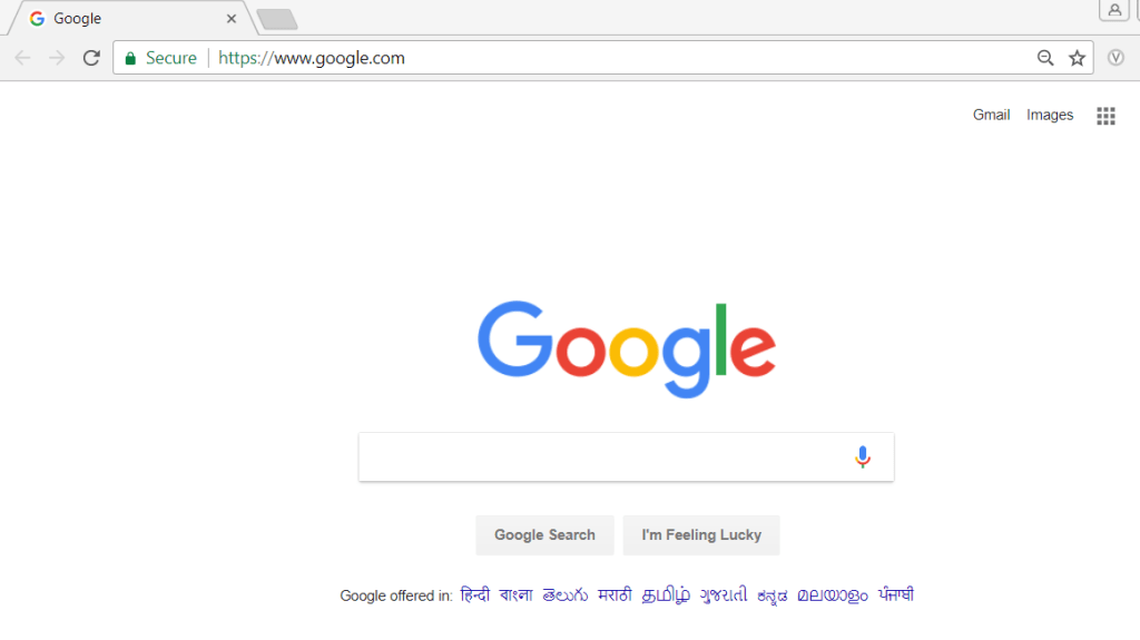 google site opens