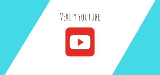 how to verify your youtube channel