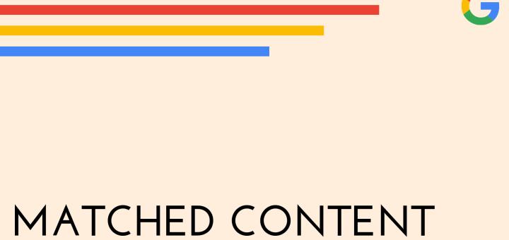 matched content ad units wallpaper