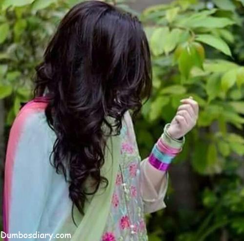 Beautiful girl in pakistani dress
