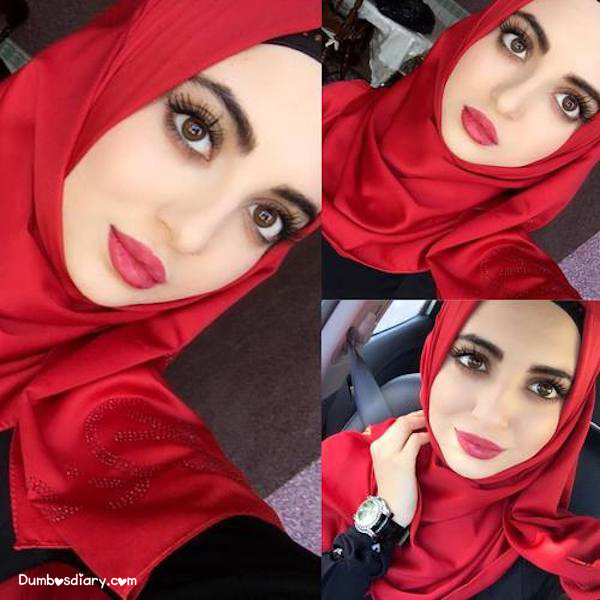 beautiful girl arab style dp