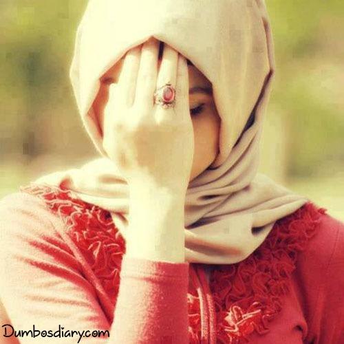 muslim hijab girl dp face cover