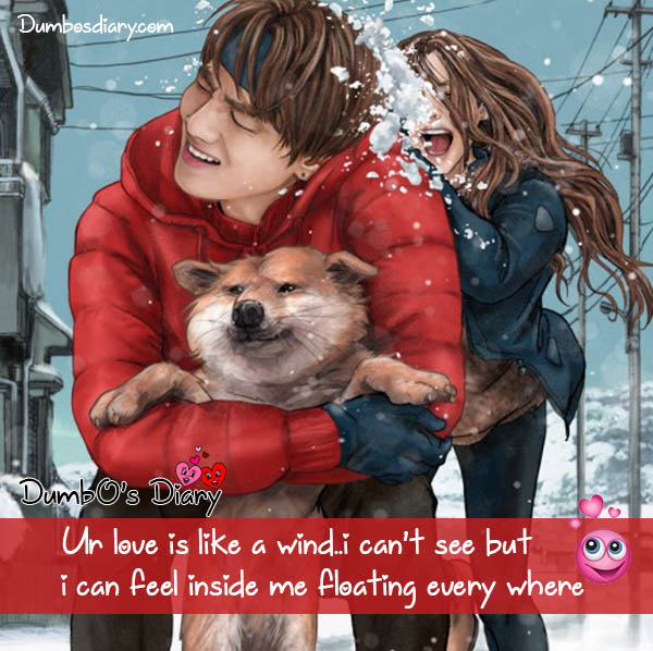 Love feeling quote