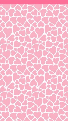 Pink hearts whatsapp wallpaper