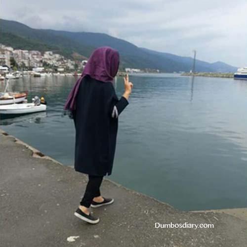 beautiful fashion hijab girl