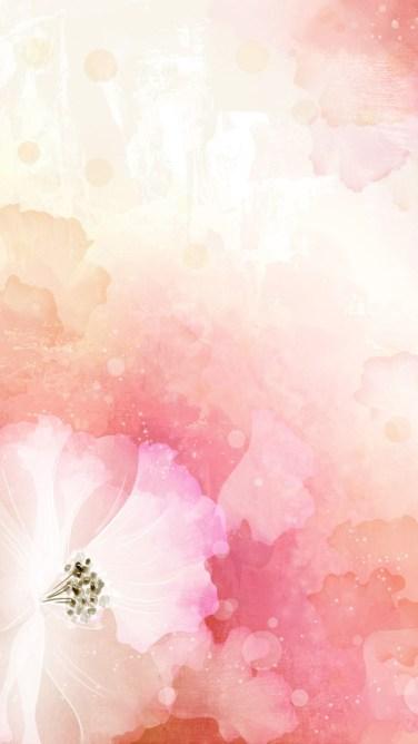 beautiful flower art whatsapp chat wallpaper