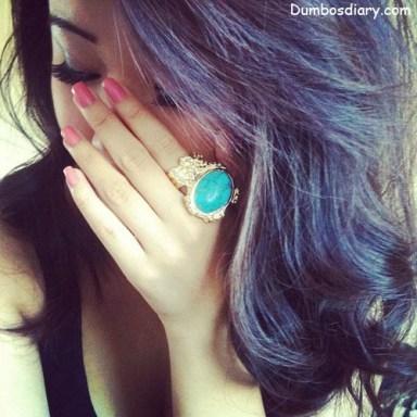hidden face pretty girl